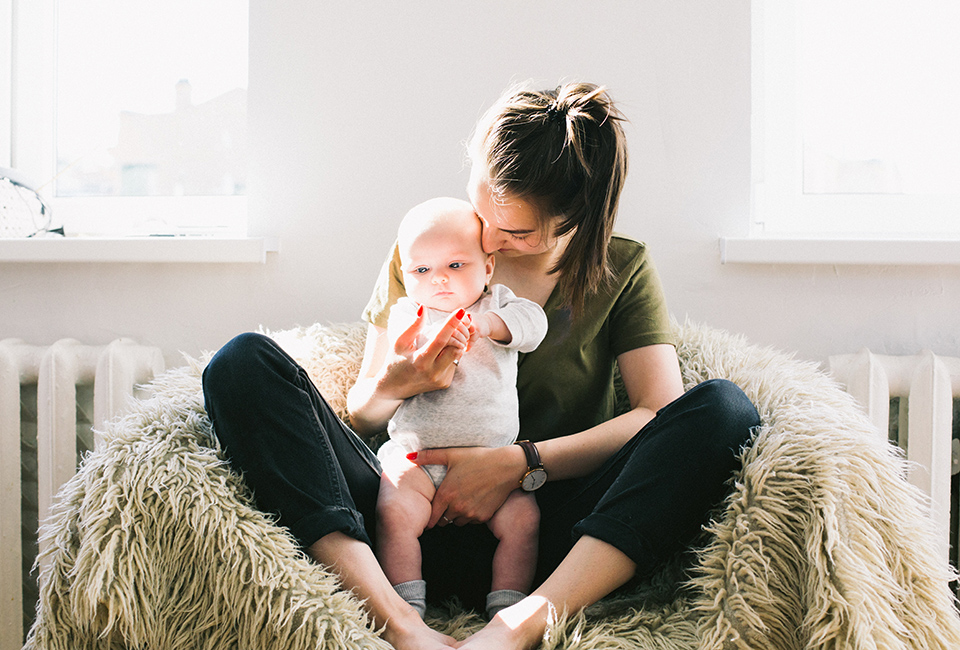 presente mãe acabou de ter bebê