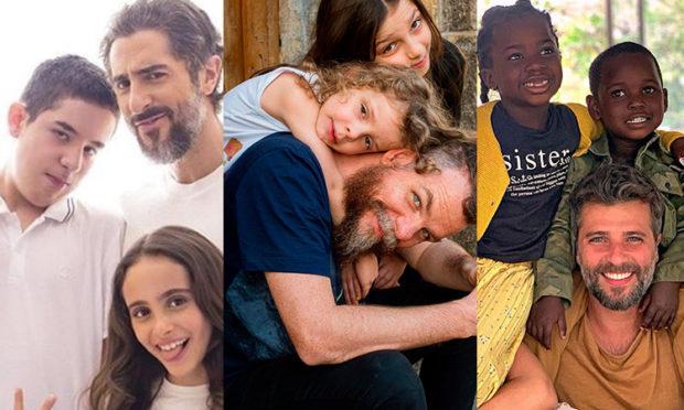 6 pais famosos que inspiram It Mãe