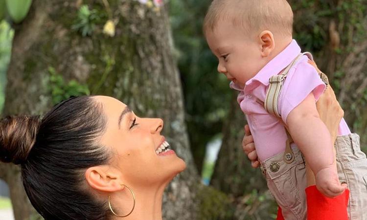 Bebês de famosos: Sabrina Petraglia e Gael It Mãe