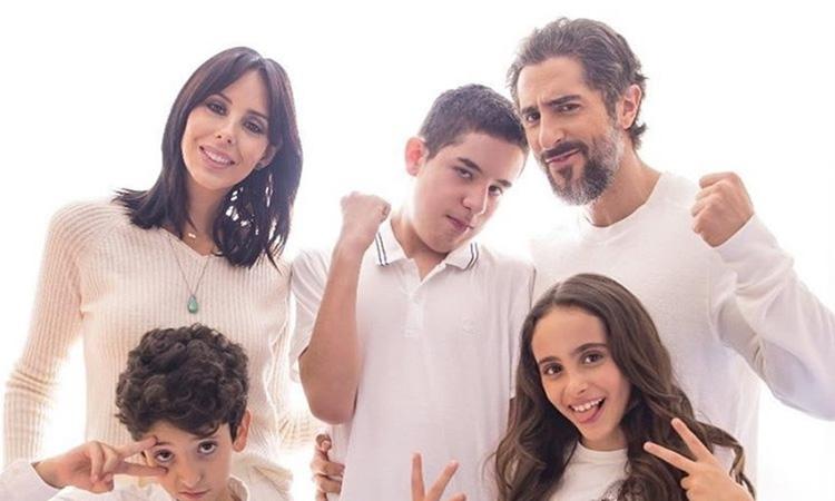 Pais famosos: Marcos Mion e família - It Mãe