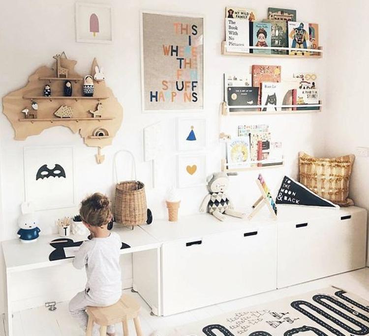 Dicas de organização para crianças It Mãe