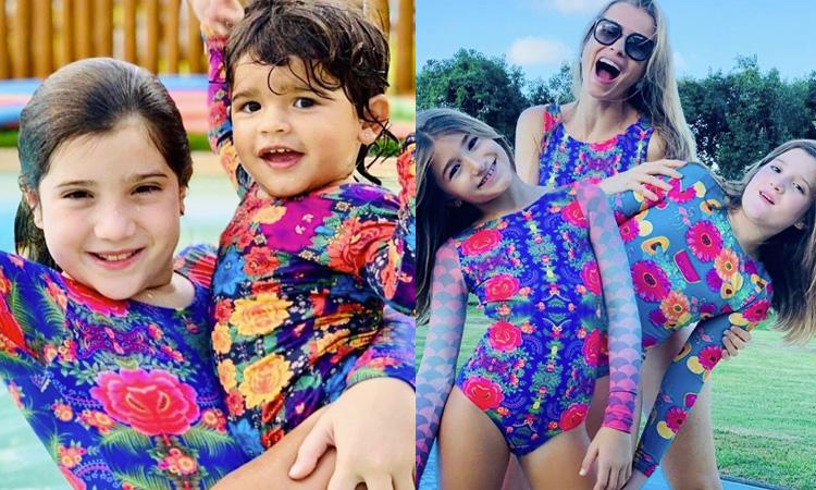 Férias de verão Lului Bikinis It Mãe