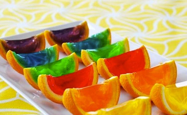 Comidinhas de verão gelatina de frutas It Mãe