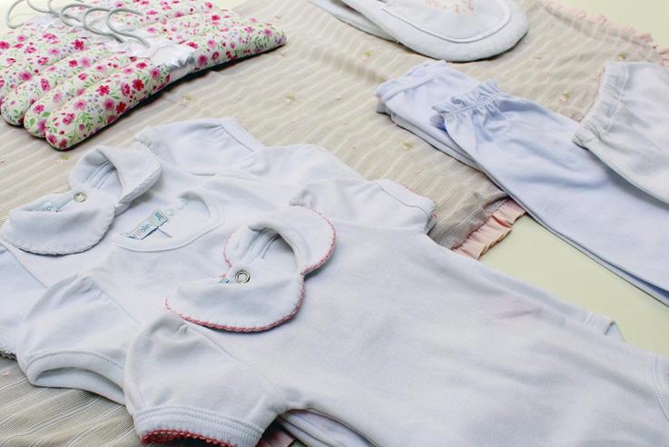 Kit Saída Maternidade Rose&Bleu It Mãe