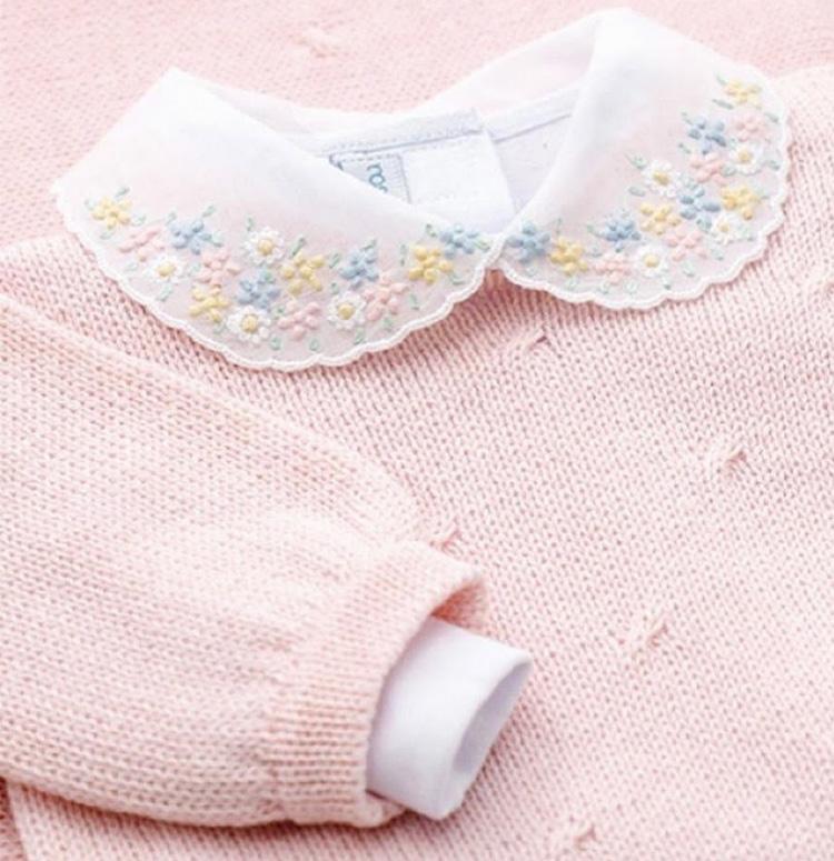 Saída de maternidade para bebê menina Rose&Bleu It Mãe