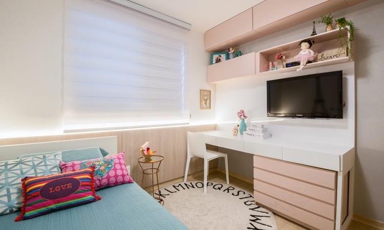 Decoração de quarto infantil para menina Patrícia Bigonha Design de Interiores It Mãe