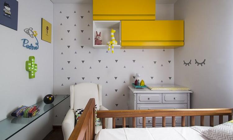 Decoração de quarto infantil para bebê menino Patrícia Bigonha Design de Interiores It Mãe