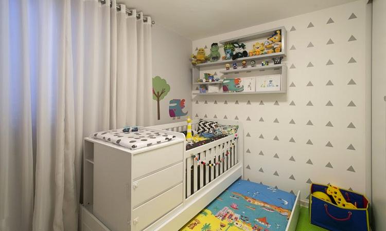 Decoração de quarto infantil para bebê Patrícia Bigonha Design de Interiores It Mãe