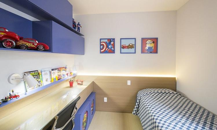 Decoração de quarto infantil para menino Patrícia Bigonha Design de Interiores It Mãe