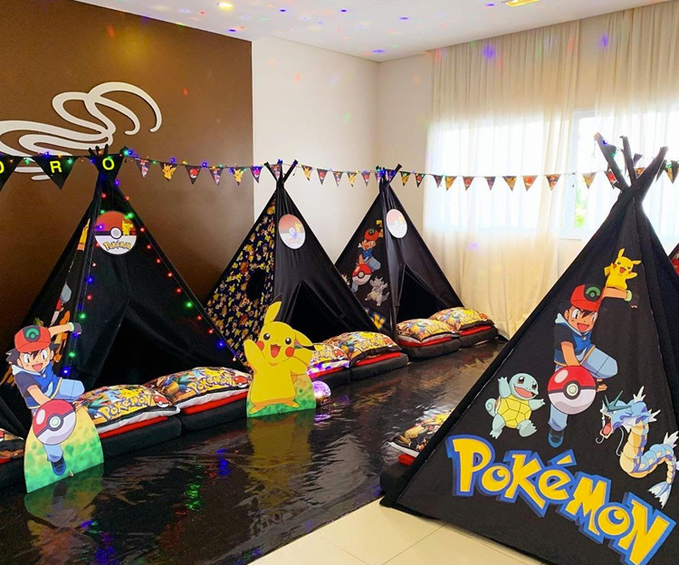 Pijamas Party Pokémon It Mãe