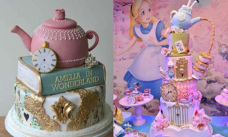 Bolos para festa da Alice no País das Maravilhas - It Mãe