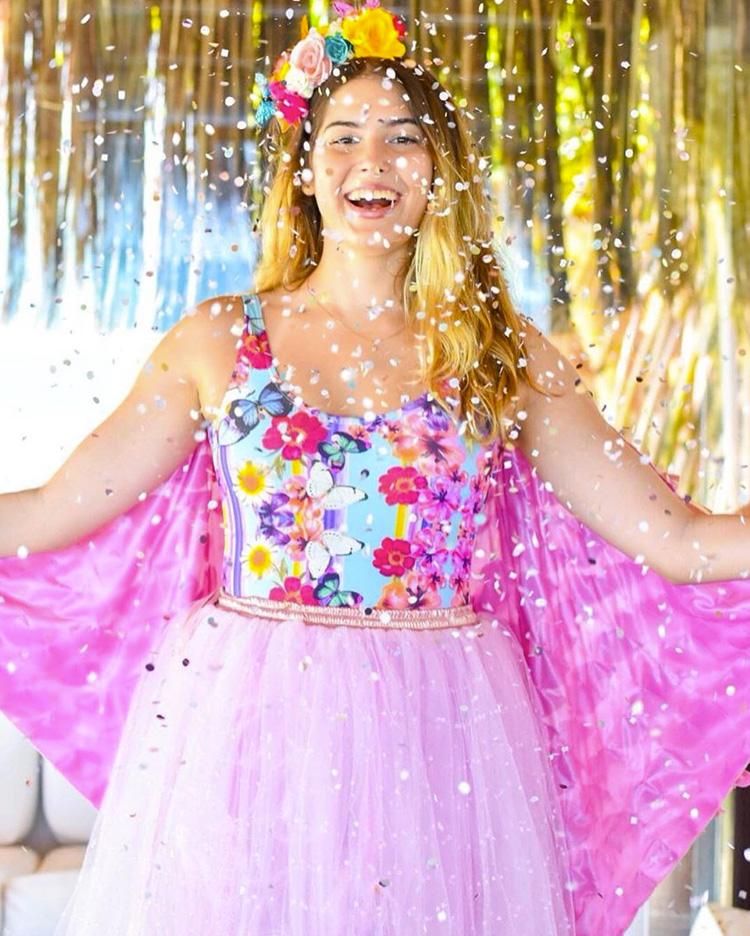 Fantasia com asas para carnaval Lului Bikinis It Mãe