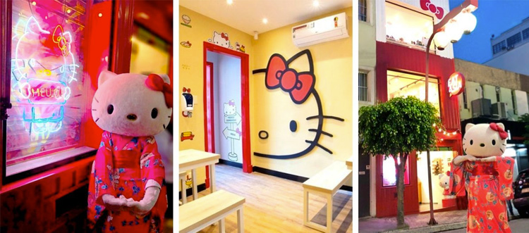 Restaurante Temático da Hello Kitty It Mãe
