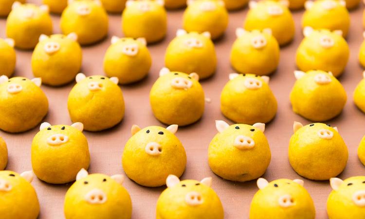 Receitas divertidas pão de porquinho It Mãe
