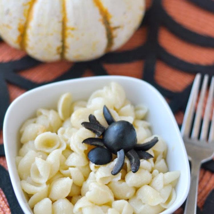 Aranha refeições inspiradas em desenhos