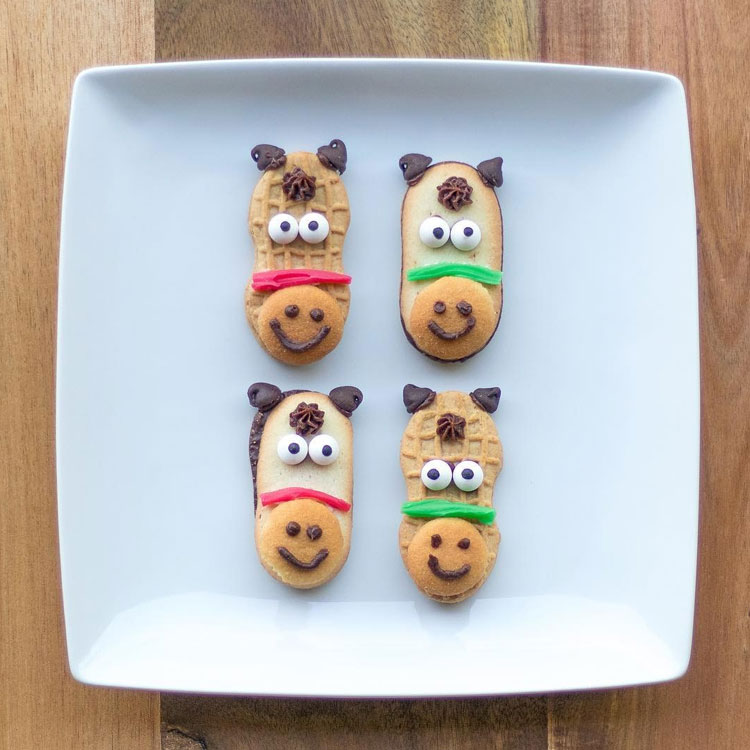 Biscoitos decorados Ideias de café da manhã It Mãe