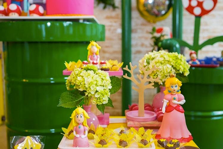 Decoração Princesa Peach Mi Casa It Mãe