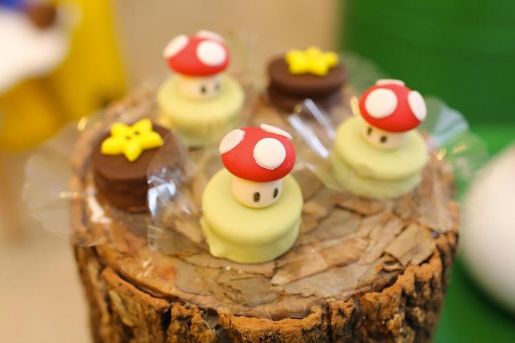 Doces temáticos Festa Super Mario Bros Mi Casa It Mãe