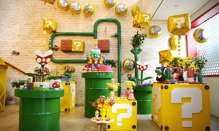 Festa Super Mario Bros Mi Casa It Mãe