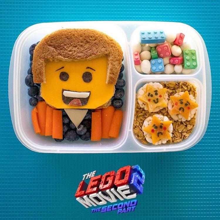 Lego filme lanches para escola It Mãe