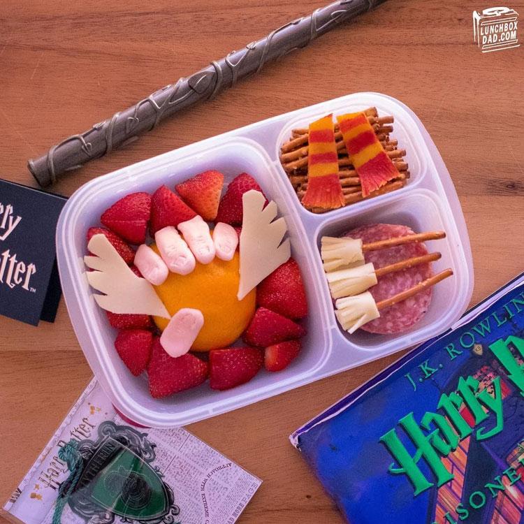 Harry Potter lanches para escola It Mãe