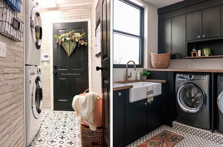 Otimizar o espaço da lavanderia com a área comum It Mãe