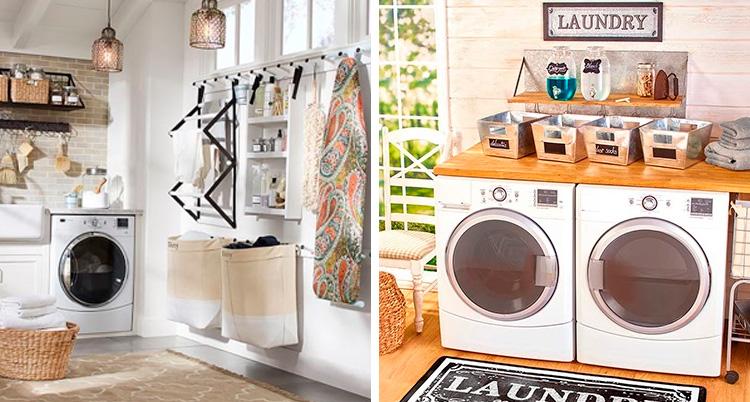 Como organizar a  lavanderia It Mãe