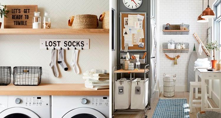 Dicas para organizar a  lavanderia It Mãe