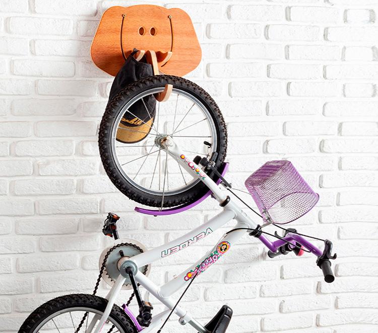 Suporte de bicicleta Elefo Estúdio Tauga It Mãe
