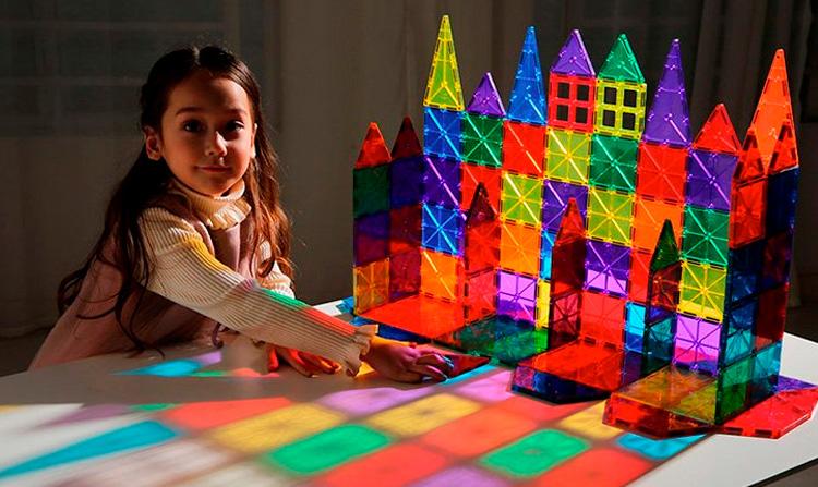 MagForma - Brinquedos educativos para desenvolvimento de crianças - Steam Toy - It Mãe