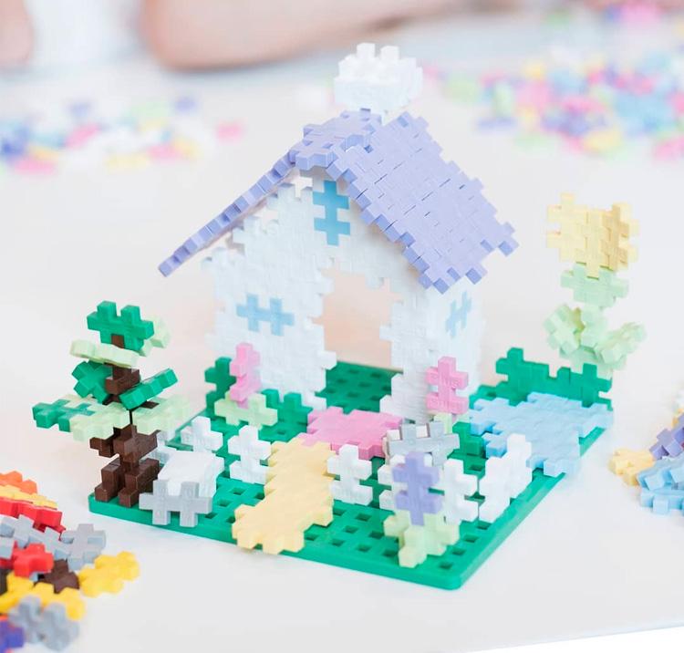 Plus Plus - Brinquedos educativos para desenvolvimento de crianças - Steam Toy - It Mãe