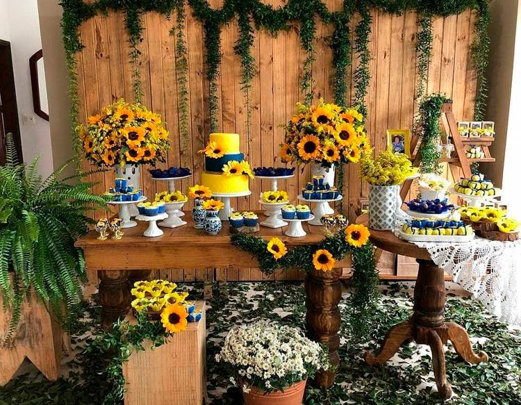 Inspiração festa de girassol -  It Mãe