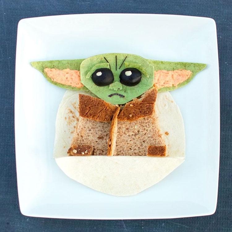 Lanche Yoda Ideias de café da manhã It Mãe