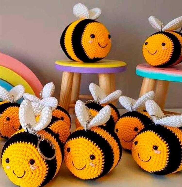 Chaveiros de amiguruimi Lembrancinhas úteis para chá de bebê It Mãe