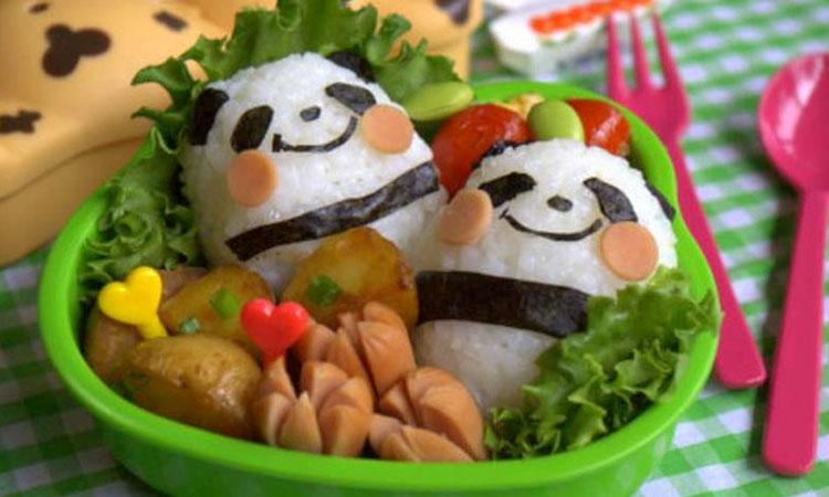 Panda Refeições inspiradas em desenhos It Mãe