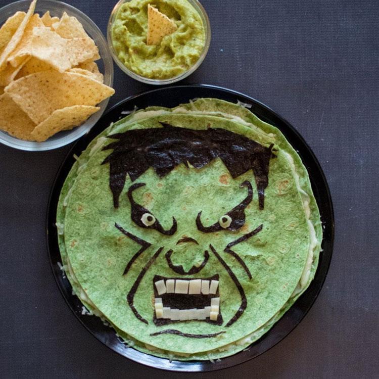 Panqueca Hulk Ideias de café da manhã It Mãe