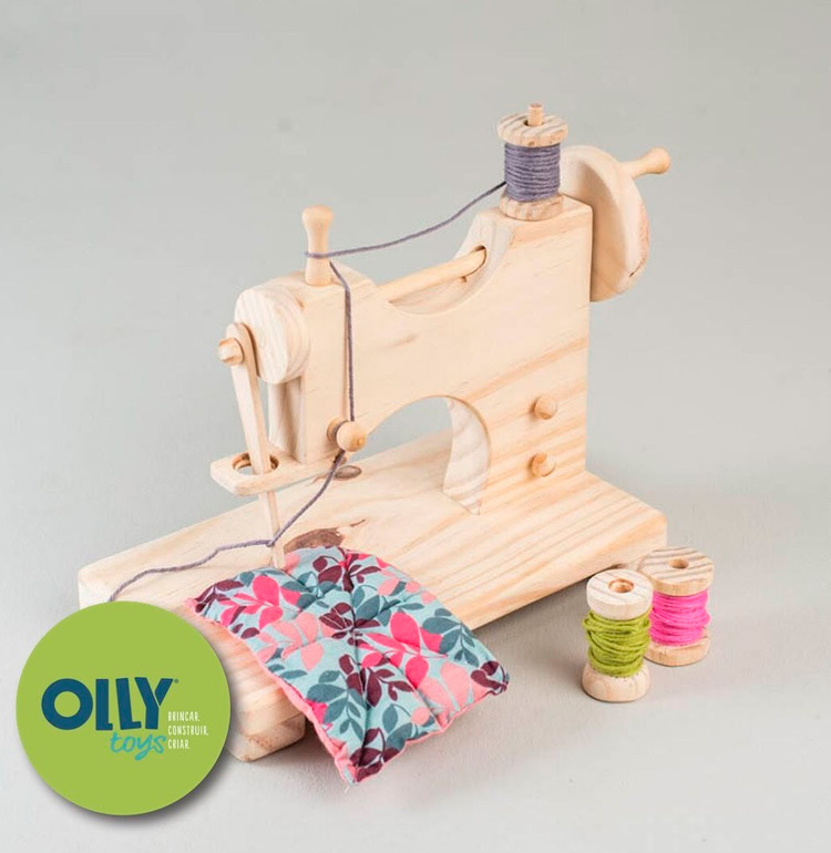 Brinquedos lúdicos para crianças - máquina de costura da Olly Toys - It Mãe