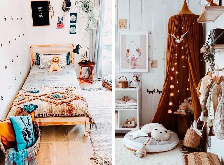 Inspiração para quartos hippie chic It Mãe