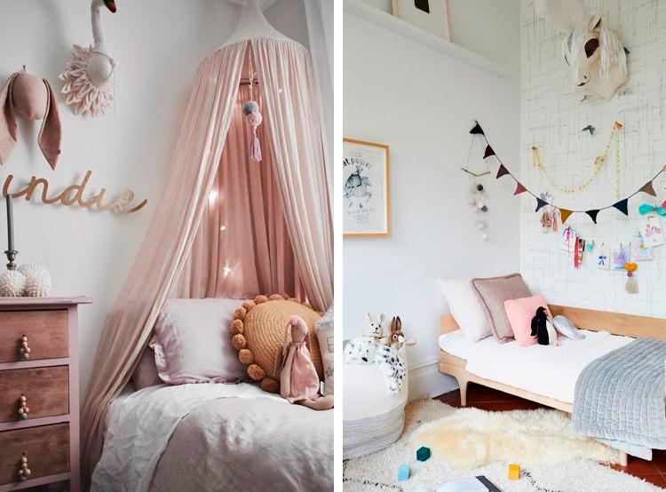Inspiração de decoração de quartos para crianças It Mãe
