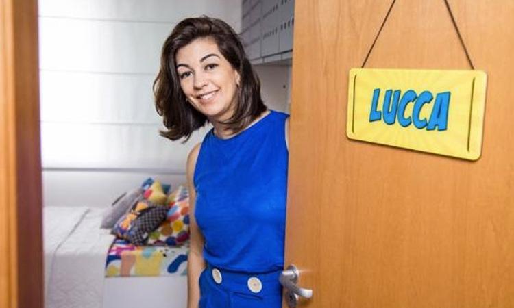 Entrada do quarto de super-heróis Patricia Bigonha Design It Mãe