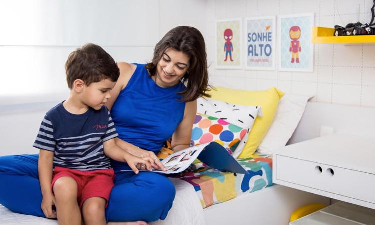 Hora da leitura Patricia Bigonha Design It Mãe