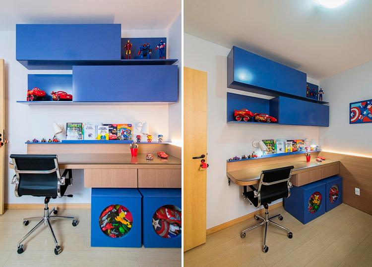 Organização criativa quarto infantil Patricia Bigonha Design It Mãe