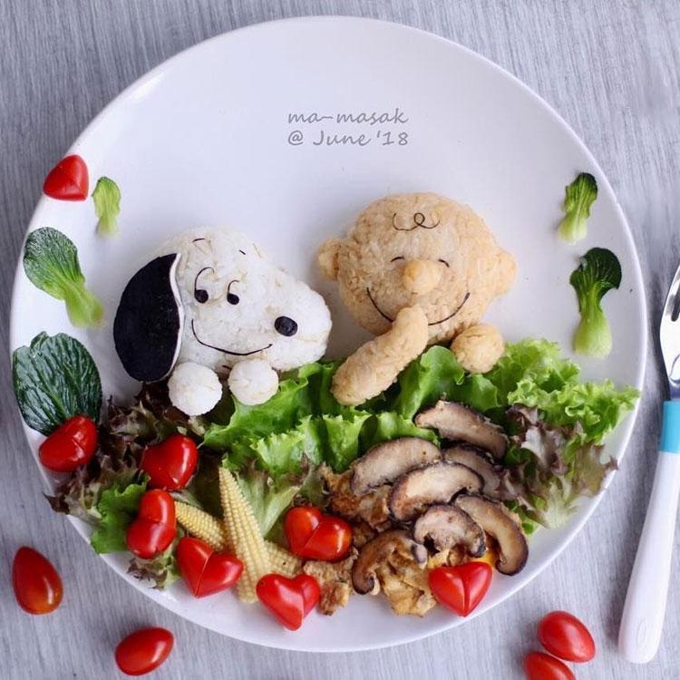 Salada Snoopy It Mãe
