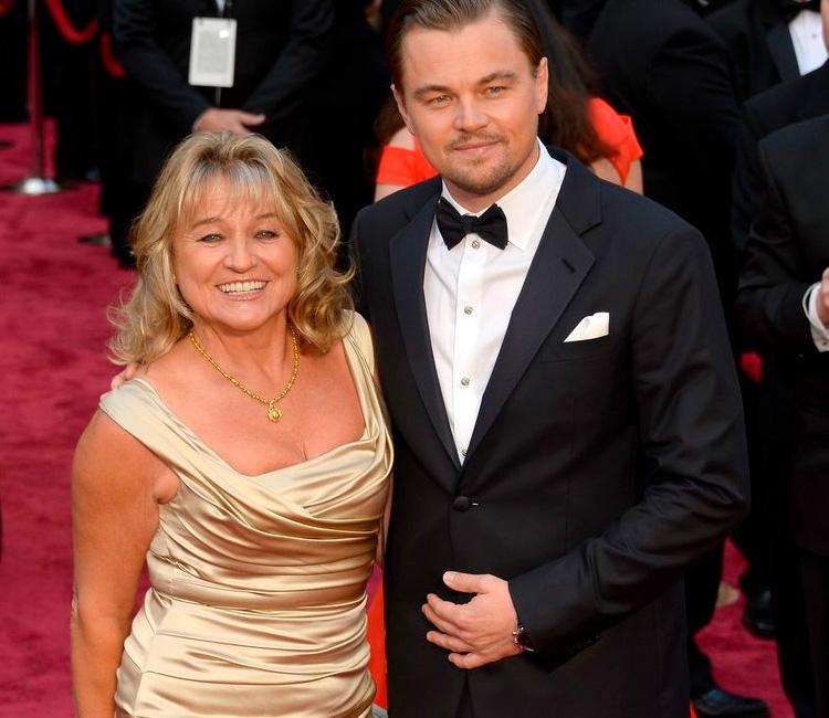 Mães no Oscar: Irmelin e Leo Di Caprio It Mãe
