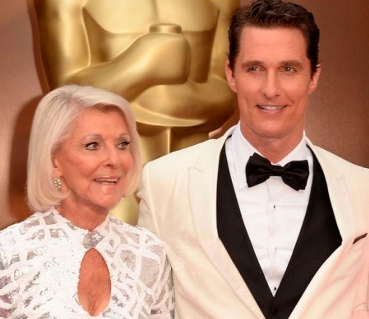 Mães no Oscar: Matthew McConaughey e Mary Kathlene McCabe It Mãe