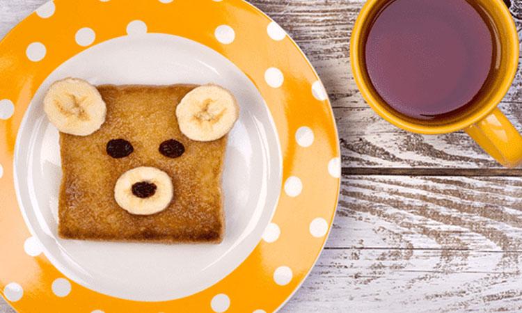 Torrada de ursinho Ideias de café da manhã It Mãe