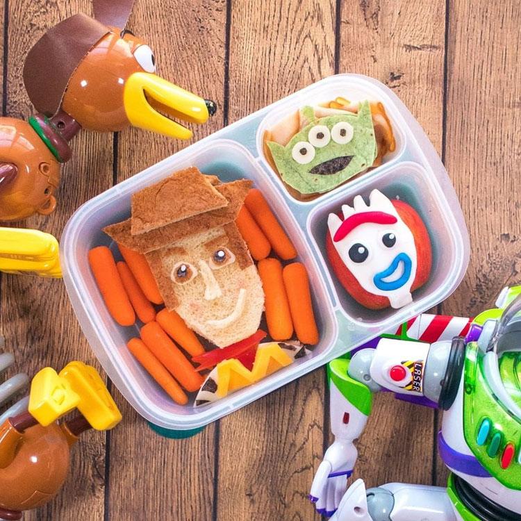 Toy Story lanches para escola It Mãe