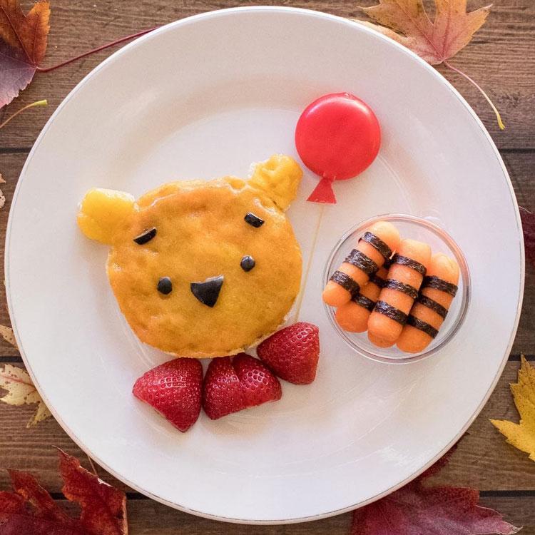 Ursinho Pooh Ideias de café da manhã It Mãe