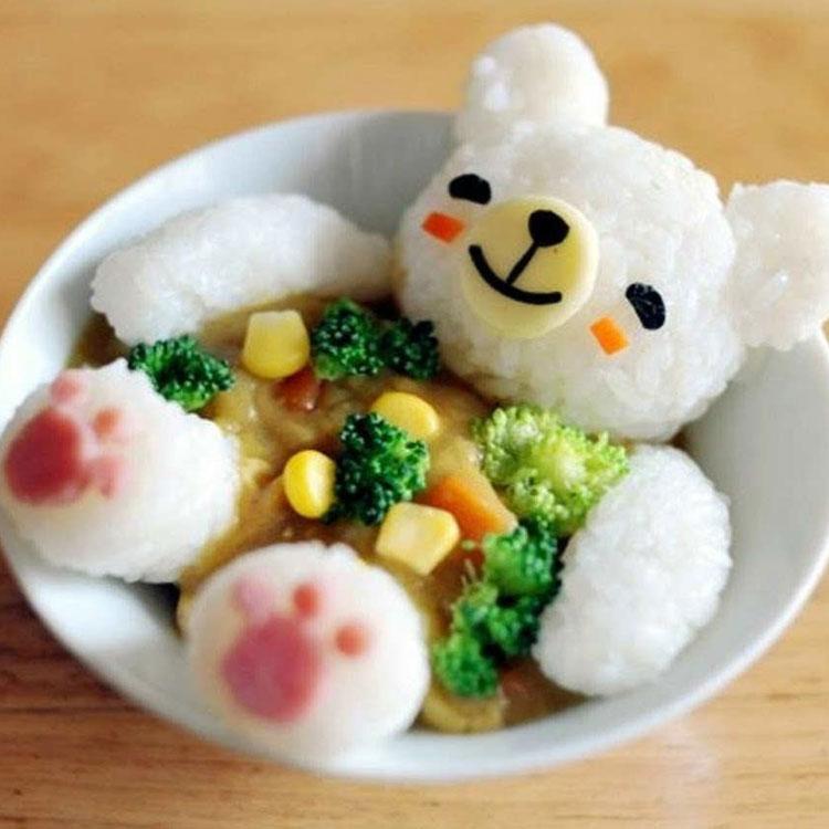 Ursinho refeições inspiradas em desenhos It Mãe