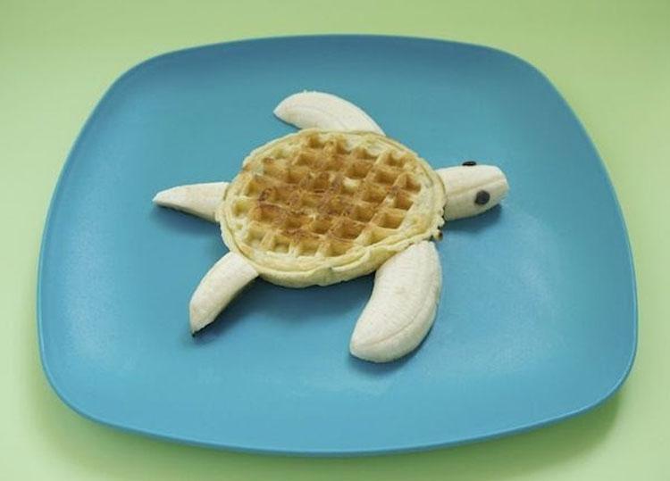 Waffle de tartaruga It Mãe